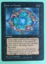 MTG MAGIC Carte HYMN TO TOURACH extension FALLEN EMPIRE de 1994