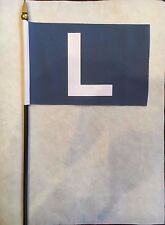 "Chicago Cubs L  Loss Mini Desk Flag    4"" x 6"""