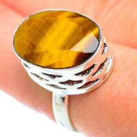 Tiger Eye 925 Sterling Silver Ring Size 8 Ana Co Jewelry R52616F
