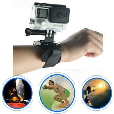 Wrist Strap Mount (No Housing / Frame) For GoPro Go Pro HD Hero 4 3+ 3 2 Camera