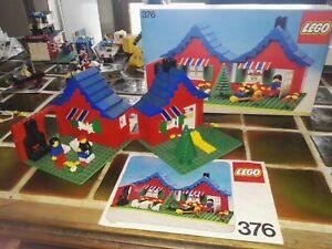 LEGO 376 LA VILLA LEGOLAND Vintage complet notice originale boite BON ETAT