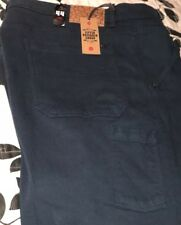 Men's Lifted Research Group True Straight LRG 44 Dark Blue Stretch 6-Pocket Jean