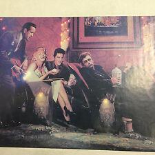 LED Marilyn Monroe Large Framed Box Print Picture Elvis Presley James Dean