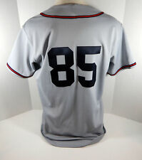 2018 Cleveland Indians Buckeyes Brian Sweeney #85 Game Issued Grey Jersey