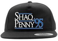 Black Shaquille O'Neal Shaq Penny Hardaway Orlando Magic 1995 Snapback Hat
