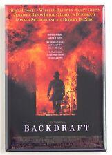 Backdraft FRIDGE MAGNET (2 x 3 inches) movie poster kurt russell
