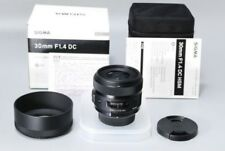 SIGMA single-focus standard lens Art 30mm F1.4 DC HSM for Nikon APS-C only F/S