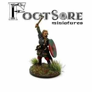 RAGNAR LODBROK Footsore Miniatures SAGA 03VIK012
