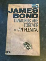 Diamonds are Forever by Ian Fleming - James Bond - Pan Pb 1964 18th Print