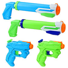 Nerf Super Soaker Floodtastic 4 Pack Water Pistol Blaster Summer Fun NEW GIFT