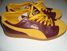 PUMA SWINGER UK6,5 40 LOW SNEAKERS MEN/WOMAN DUNKEL ROT GELB/BORDEAUX YELLOW NEU