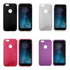 Case For iPhone 7 iPhone 8 S-Line Silicone Gel Skin Tough Shockproof Phone Cover