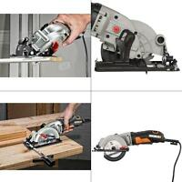 4 1/2 Compact Portable Circular Saw Corded Electric Woodworking DIY Hand Tools