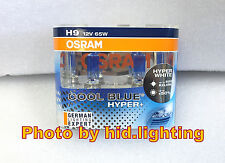 H9 OSRAM 5000k Cool Blue Hyper Plus + 65W White Light Halogen Bulb high beam