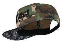 Nebelkind Camouflage Snapback Cap mit verdrehtem Schirm onesize unisex