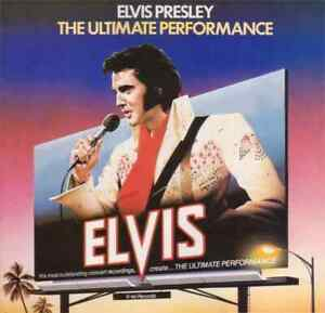 Elvis Presley – The Ultimate Performance. LP. Near Mint (cover is VG)