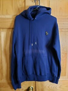 Mens OVO Octobers Very Own Drake Blue Hoodie L Pullover OWL Read Description