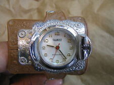 Not Working Gilbert Saddle Wrist Watch + Original Band Antimagnetic Swiss Made