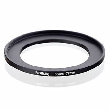 55mm to 72mm 55-72 55-72mm55mm-72mm Stepping Step Up Filter Ring Adapter