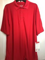 New Tru Spec 24-7 Series Men's Performance Red Polo Size Large