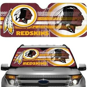 Washington Redskins NFL Officially Licensed Auto Sun Shade Free Shipping