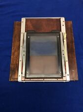Vintage Burke & James Rembrandt large format 5x7 4x5  Rear Plate Camera Part