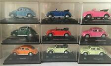 9 x Hongwell 1.72 scale VW Beetles