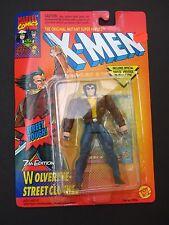 Wolverine 7th Edition Street Cloths X-Men Action Figure Toy Biz/Marvel 1996 MOC