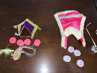 Vintage 1980s G1 My Little Pony Parade Pizzazz & Pony Royal Outfits By Hasbro
