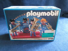 Vintage 1991 PLAYMOBIL 3723 Romani Circus Jazz Band Quartet