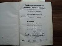 STUBAI / FULPMES / WERKZEUGKATALOG aus 1936 ! ! GEBRAUCHSSPUREN ! EXTREM SELTEN