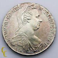 1780 Austria Thaler Restrike (BU) Brilliant Uncirculated Condition KM# T1