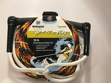 New listing Wellington 75 Ft Performance Waterski Tow Rope (1- Person) Summer Boat Fun