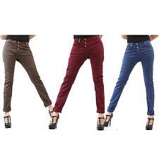 PLEASE Jeans Hosen P78 Boyfriend 3 Knöpfe 3 Farben Damen Italy - Kollektion 2015