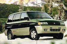 1996 MAZDA MPV SUV Brochure / Catalog w/Color Chart: DX,LX,ES,4WD,MiniVan,'96