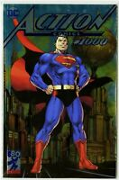 Action Comics #1000 Jim Lee Silver Foil SOLD OUT San Diego Comic Con Exclusive