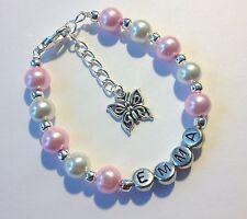 Pink Butterfly Costume Bracelets