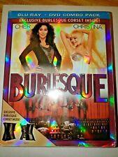 Burlesque (Blu-ray/DVD, 2011, Best Buy) NEW w/mini corset