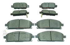 FOR NISSAN X-TRAIL XTRAIL 2.0 2.2 DCi 2.5 SPORT SVE FRONT & REAR BRAKE DISC PADS