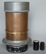 Meyer Atelier-Schnellarbeiter 400mm/f3,0 huge brass lens, NO REAR GLASS Trioplan