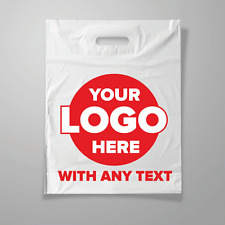 More details for personalised carrier bags  custom printed plastic bags with logo