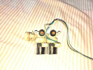 Bloc electrovanne double lave linge Hotpoint Indesit ariston bendix