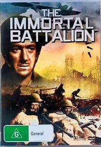 The Immortal Battalion DVD David Niven Stanley Holloway. Region 4 Good Condition