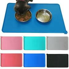 Pet Puppy Silicone Feeding Food Mat Dog Cat Non Slip Bowl Waterproof Placemat