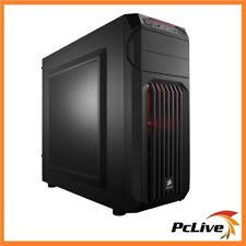 Corsair Carbide SPEC-01 Red LED Gaming Case Quiet Mid Tower Side Panel Window