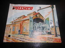 Brochure Sales Vollmer Railway Stations Engine shed steam and E- Locomotive Kit