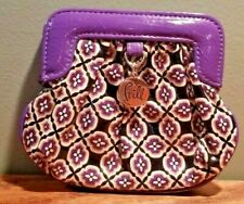 Vera Bradley Frill Collection Charmed Pouch in Simply Violet