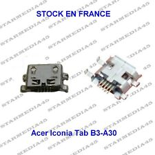 Acer Iconia TAB B3-A30 micro usb prise de charge port connecteur  a souder (25)