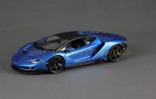 Maisto 1:18 Lamborghini LP770-4 Centenario Diecast Model Racing Car Vehicle Blue