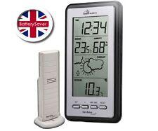 Technoline MA 10430  Mobile-Alerts Clock, Temperature + Humidity Weather Station